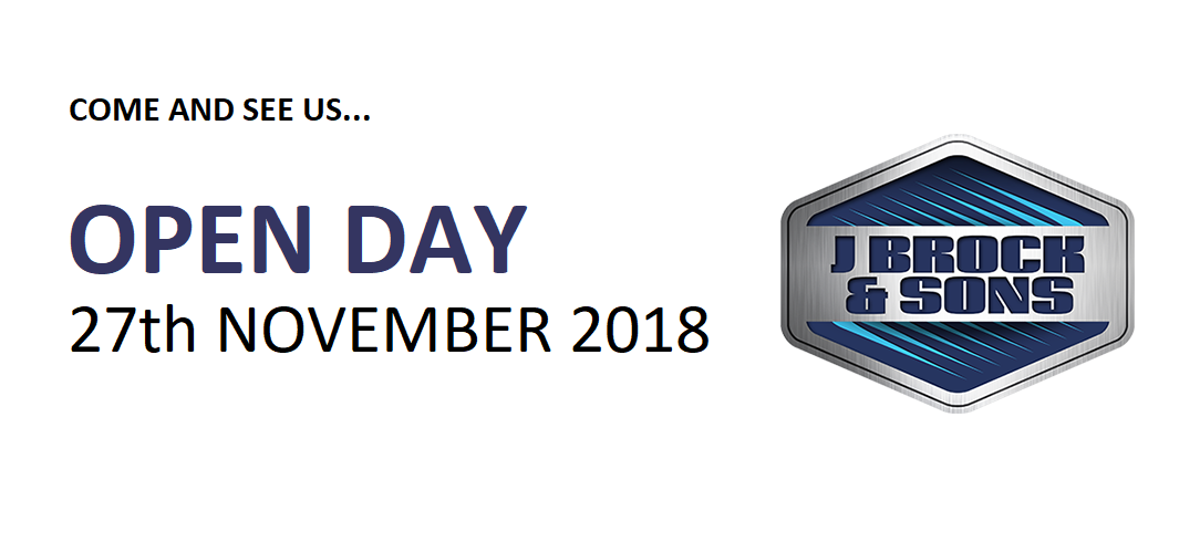 2018 Brock Open Day Tuesday 27th November - Save the Date!