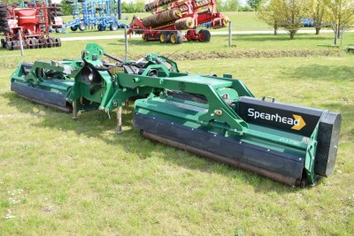 SPEARHEAD Trident 6m Flail Mower (front & Rear Mounted)