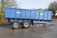 MISC-AG Easterby 14t Grain Trailer C/w Air + Hyd Brakes