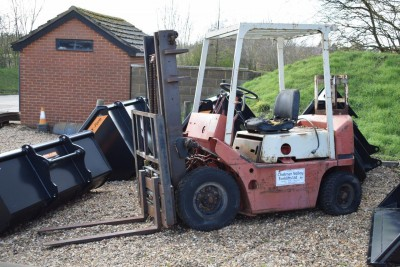 MISC-AG Tcm 2 Tonne Forklift (gas Powered)
