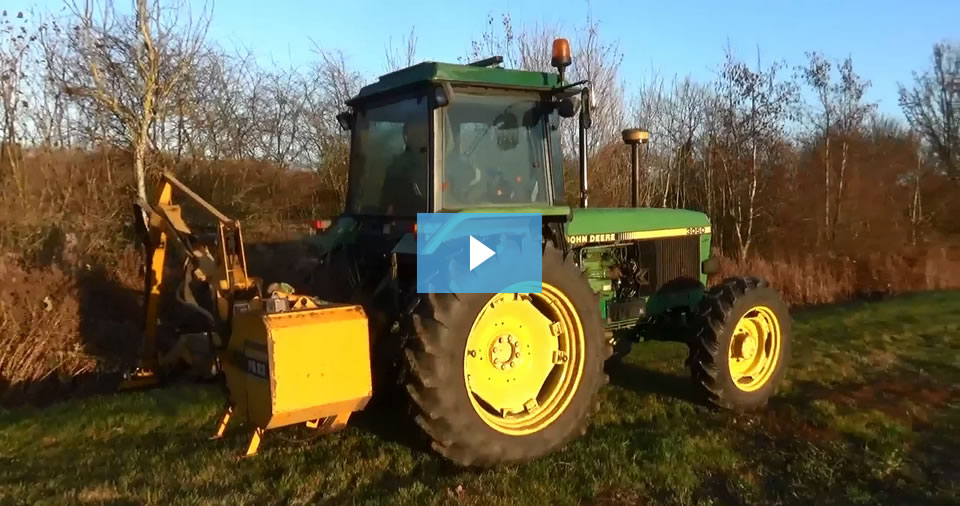 Brock Update 28 – What made these tractors great for hedgecutting?