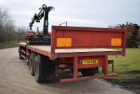 MISC-AG 36ft Flat Trailer With Dolly & Terex Crane (see Video Loading Seed)