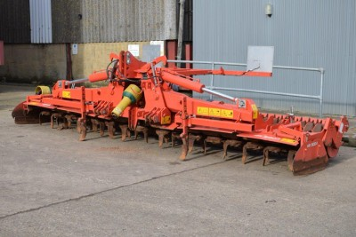 KUHN 5004 5m Folding Powerharrow